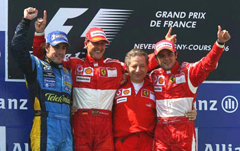 Michael Schumacher remporte sa 88ème course